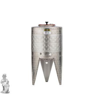Speidel RVS Gistingstank 60 liter met koelmantel.