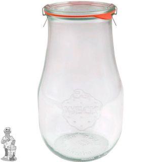 Weckglas tulp 1.5 ltr. per 4 stuks 738 (exclusief weckklemmen)