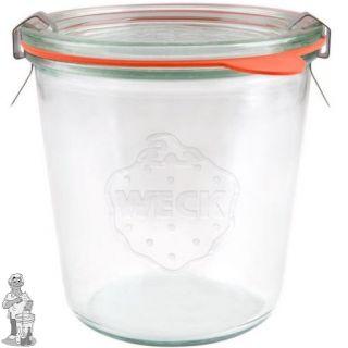 Weckglas stort 0,58 ltr. per stuk 742 (exclusief weckklemmen)