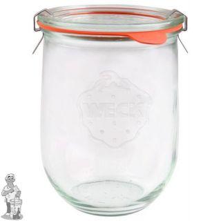 Weckglas tulp 1 ltr. per stuk 745 (exclusief weckklemmen)