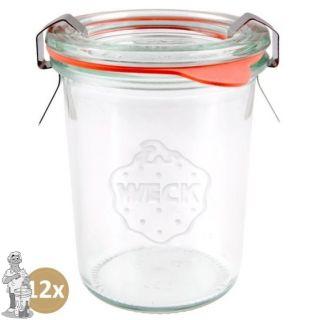 Weckglas mini stort 160 ml. per doos van 12 stuks 760 (exclusief weckklemmen)