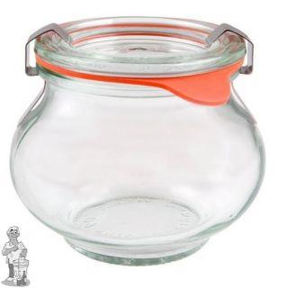 Weckglas sier 0,22 ltr. per stuk 902 (exclusief weckklemmen)