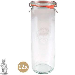 Weckglas asperge 0,6 ltr. per doos van 12 stuks 905 (exclusief weckklemmen)