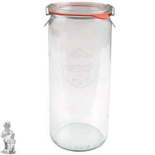 Weckglas asperge 1 ltr. per stuk 908 (exclusief weckklemmen)