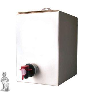 Bag in Box Wit  Kompleet 5 Liter met aluminium zak