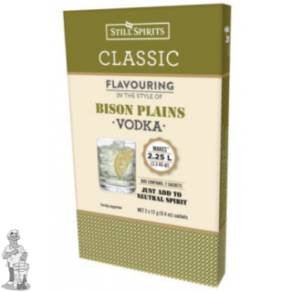 Klassieke Bison plains Vodka 2 x 12 gr.