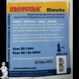Brewferm Blanche gist voor witbieren