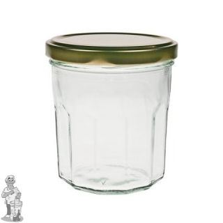 Jampot bon maman 324 ml incl twist off deksel 82mm. (24 op tray)