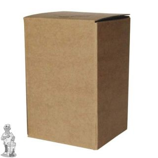 Bag in Box bruin Kompleet 3 Liter. (met aluminium binnen zak)