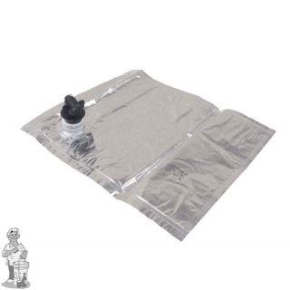 Zak aluminium voor Bag in Box 10 liter Wijn