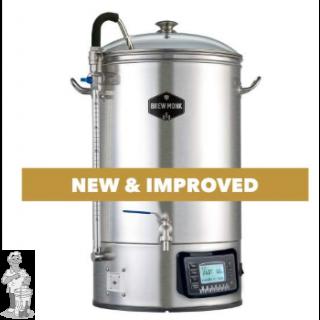 Brew Monk™ Alles-in-een brouwsysteem 30 Liter. Gratis wortkoeler 20 liter