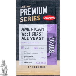 LALLEMAND LalBrew® Premium biergist gedroogd BRY-97 - 11 g