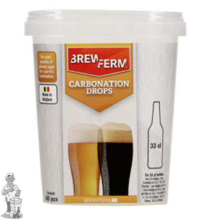 Brewferm Carbonation Drops 33 cl 60 stuks