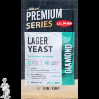 LALLEMAND LalBrew® Premium biergist gedroogd Diamond Lager - 11 g