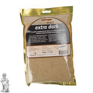 Muntons Moutextractpoeder Extra Dark 70-120 EBC 1kg (22 juni nog 3 kg op voorraad)