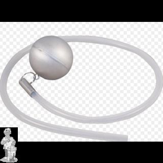 FermZilla rvs vlotter met siliconeslang 80 cm