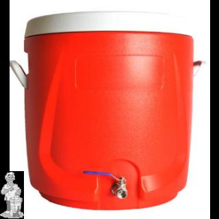 Geïsoleerde filterkuip/maischton - 56 l