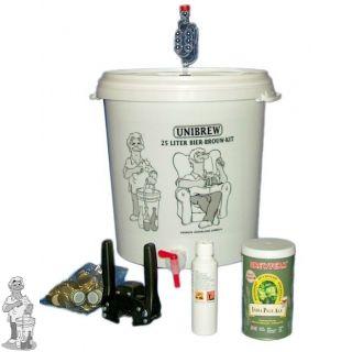 Bierbrouw Pakket Compleet Incl. Bierpakket naar keuze (wegens vernieuwde verpakking kan naam en uitstraling zijn verandert.)