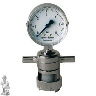 CO2 meter vr kroonkurken 26 mm