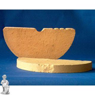 Inlegsteen voor zuurkoolpot 20 - 25 liter per 2 stuks
