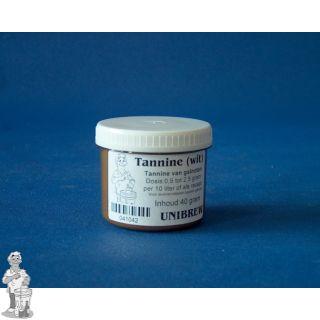 Tannine wit per pot 40 gram