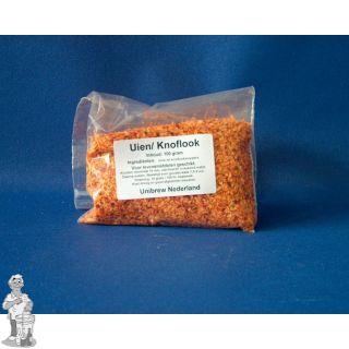 Uien / knoflookmelange 100 gram