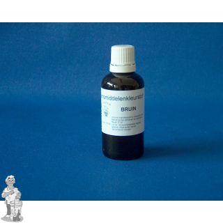 Unibrew kleurstof vloeibaar bruin 50 ml