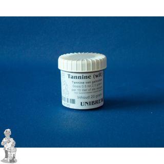 Tannine wit per pot 20 gram