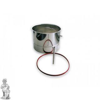 Mout Cilinder 10 liter voor Braumeister 20 liter
