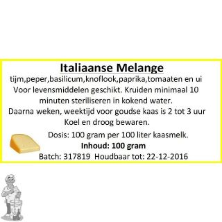 Italiaanse Melange 100 Gram