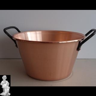 Confituurkookpot / jam kook pan 16-26 cm 4 l koper (alle vuren, geen inductie)