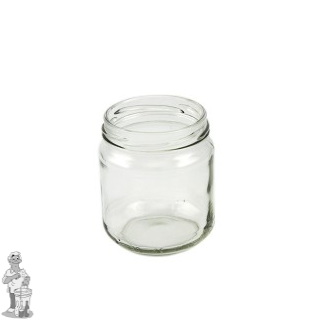 Jampot rond 720 ml incl twist off deksel 82mm