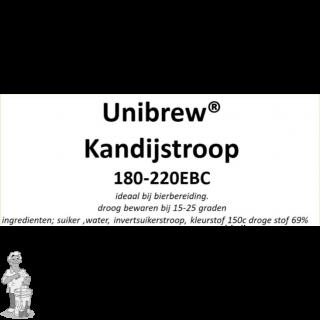 Kandij siroop donker 5 EBC