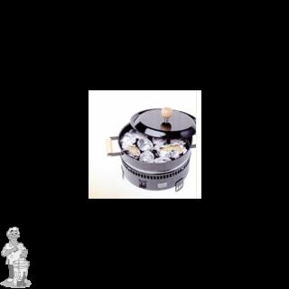 Kastanjeoven met grill (2 op voorraad)