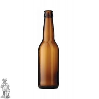 Bier fles Long Neck 33 cl bruin 1444 stuks 1 Pallet