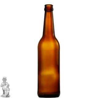 Bier fles Long Neck 50 cl bruin per stuk