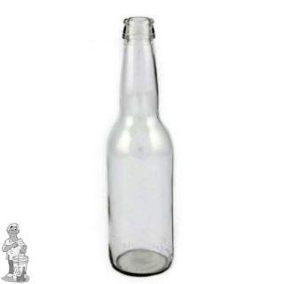 Bier fles Long Neck 33 cl Wit 24 stuks.