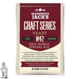 Mangrove Jack`s M42 New World Strong Ale 10 gram