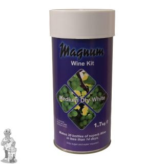 Magnum Druiven concentraat Dry White