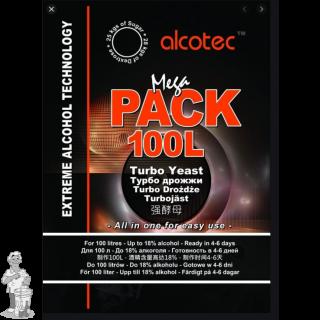 Alcotec Turbo Yeast - Mega Pack voor 100 liter