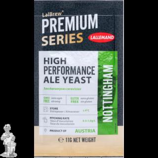LALLEMAND LalBrew® Premium biergist gedroogd Nottingham Ale - 11 g
