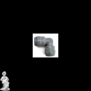 """Duotight 9,5 mm (3/8"""") push-in koppeling elleboogstuk nr 8 met ellenboog"""