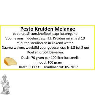 Pesto Melange 100 Gram