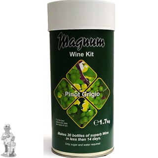 Magnum Pinot Grigio wine kit.