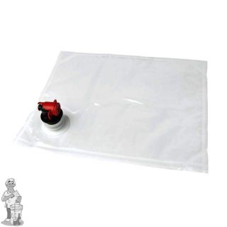 zak transparant voor BAG in BOX 3 liter sap