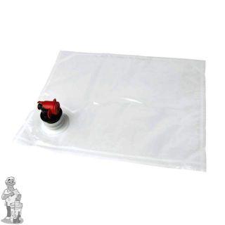 zak transparant voor BAG in BOX 10 liter sap