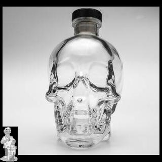 schedel  fles met kurk