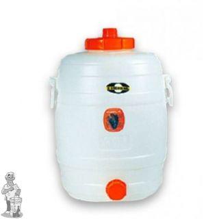 Gistingsvat plastic Speidel incl. kraan en waterslot 20 liter
