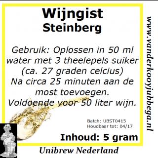 Wijngistsachet Steinberg