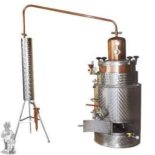 Destilleerketel SUPER 125 Aardgas